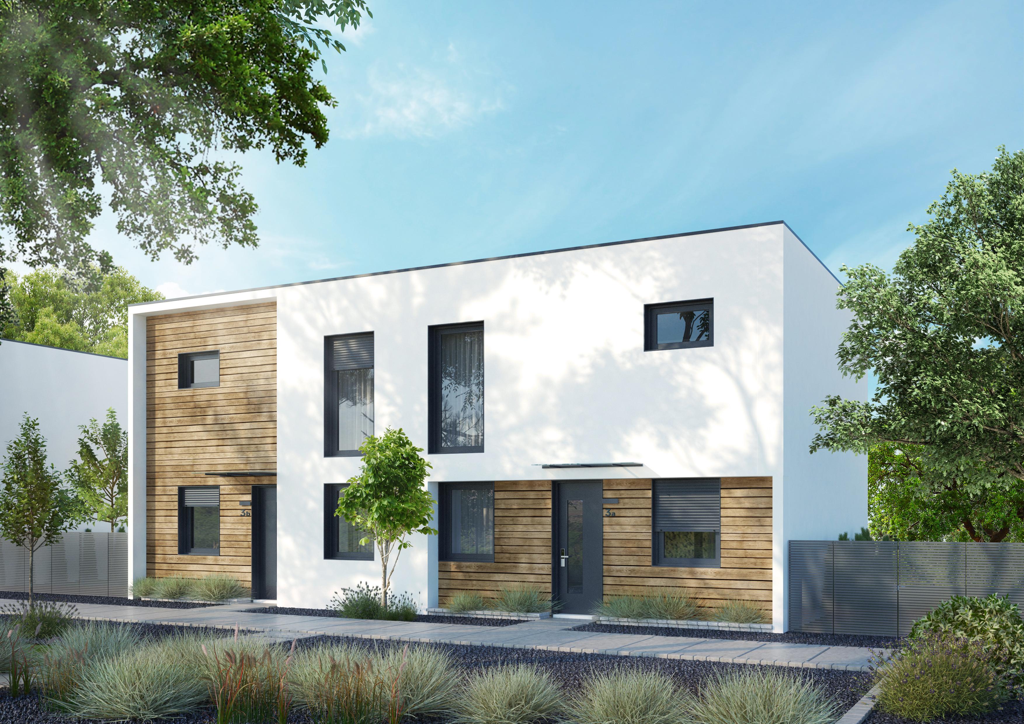projekt elewacji budynku